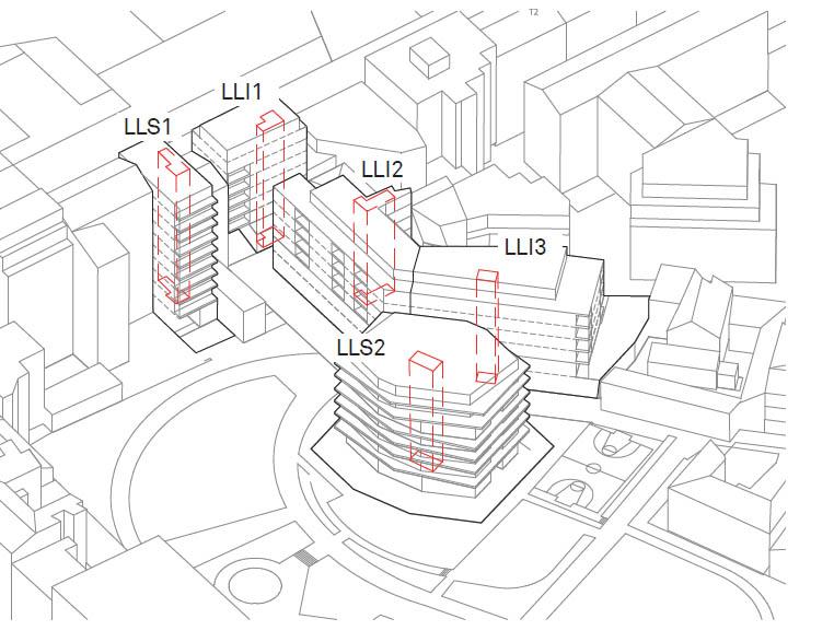 93 logements sociaux une cr che de 99 berceaux et une voirie publique a paris. Black Bedroom Furniture Sets. Home Design Ideas