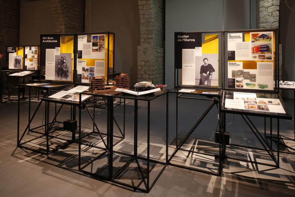 scenographie de l exposition ajap 2016. Black Bedroom Furniture Sets. Home Design Ideas